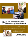 The Health Advocate's Basic Marketing Handbook logo