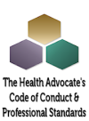 Health Advocate's Code of Conduct logo