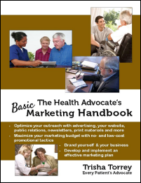 Link to The Health Advocate's Marketing Handbook
