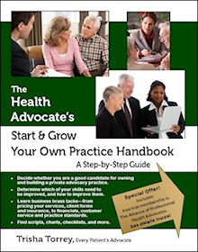 cover - The Health Advocate's Start and Grow Your Own Practice Handbook