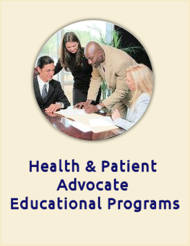 Link to Health and Patient Advocate Educational Programs