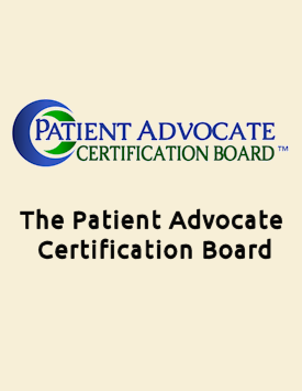Link to The Patient Advocate Certification Board