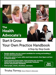 image - The Health Advocate's Start and Grow Your Own Practice Handbook 3rd edition