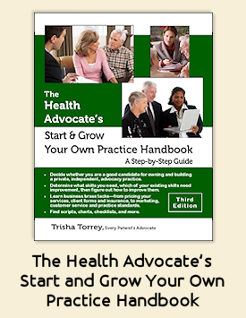 Link to The Health Advocate's Start and Grow Your Own Practice Handbook