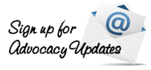 Sign up for patient and health advocacy profession updates